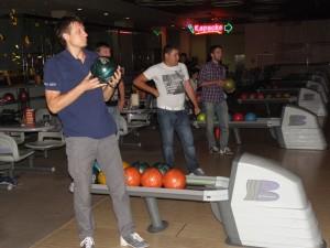 Дружеские соревнования по боулингу