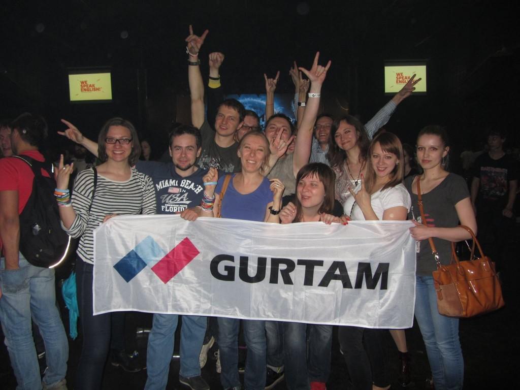 final of Navitech2014 week — Gurtam at the concert