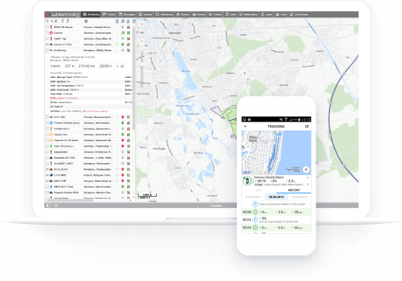 GPS Vehicle Tracking & Fleet management System | Wialon