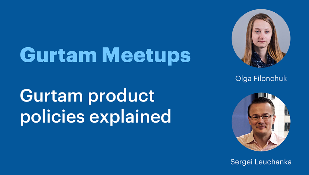 Gurtam product policies explained