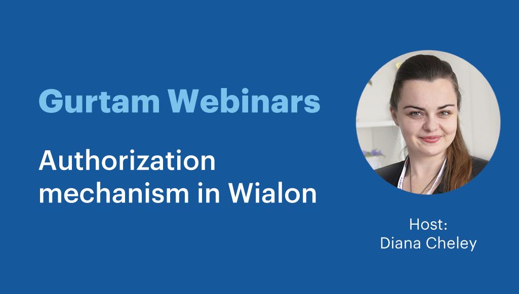 Authorization mechanism in Wialon