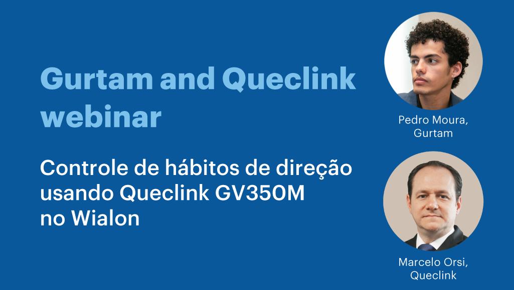 Controle de hábitos de direção usando Queclink GV350M no Wialon