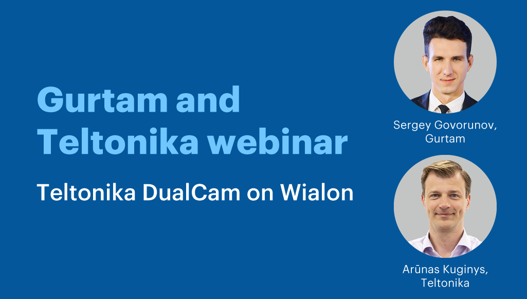Teltonika DualCam on Wialon
