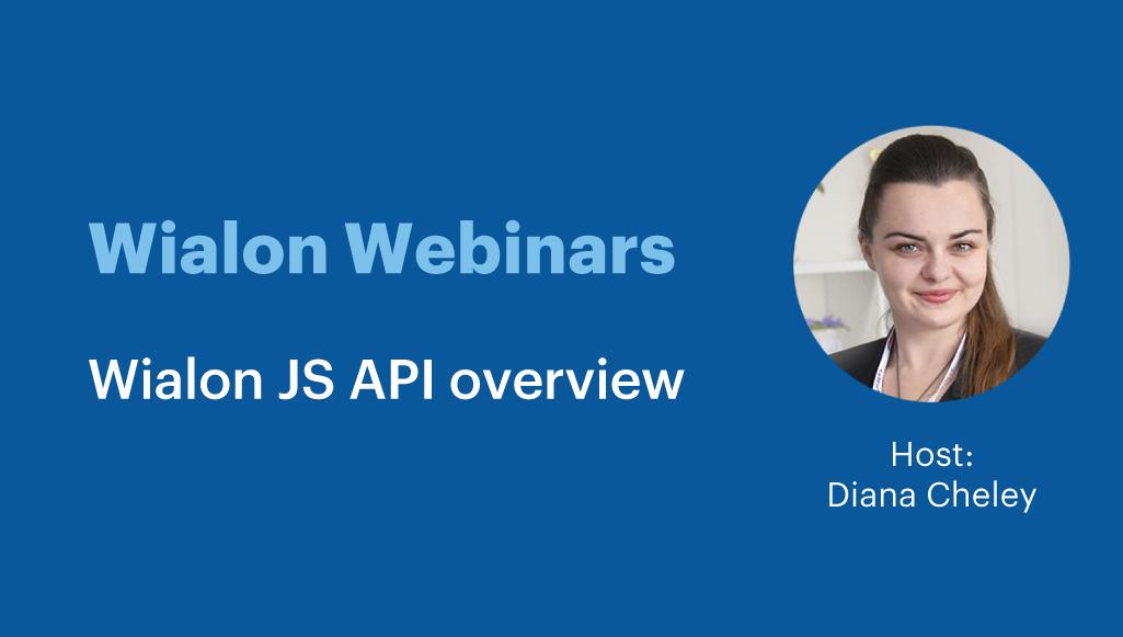 Wialon JS API overview
