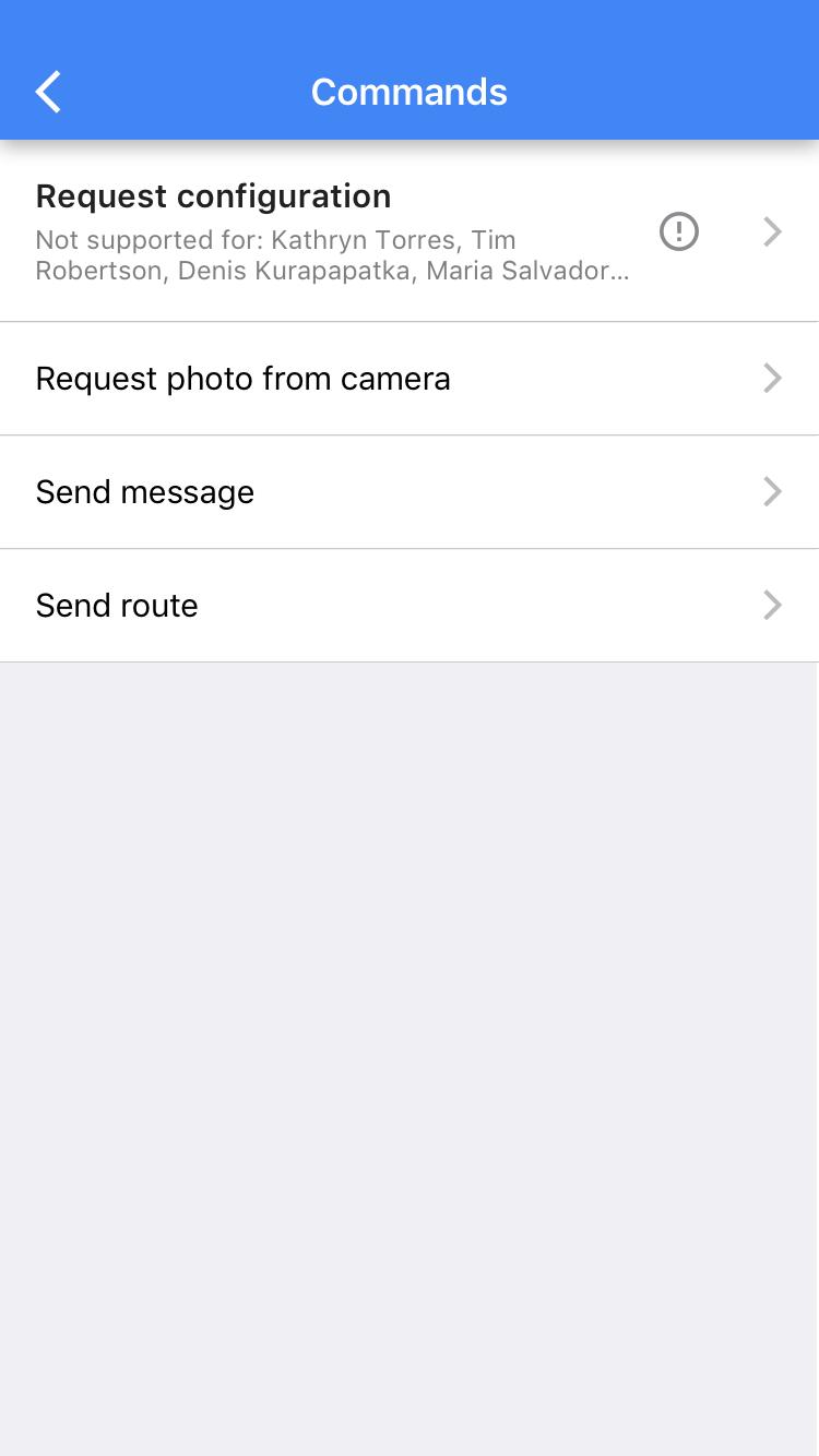 Wialon mobile app 2.0 features