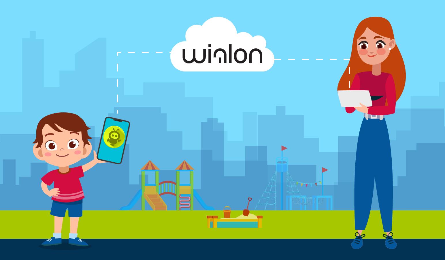 №5. Миссия Wialon: безопасность ребенка