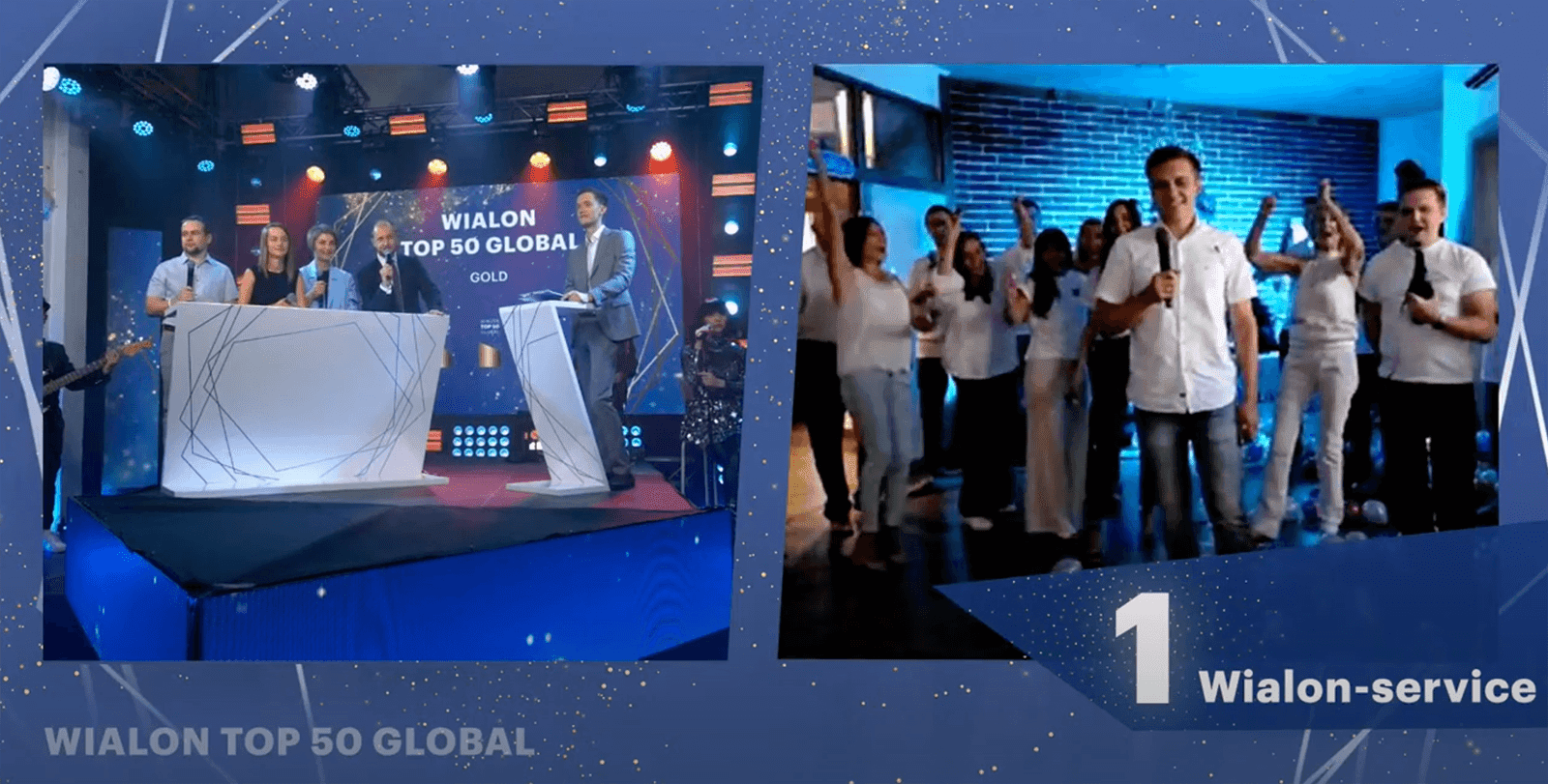 Wialon Top 50 Global ceremony