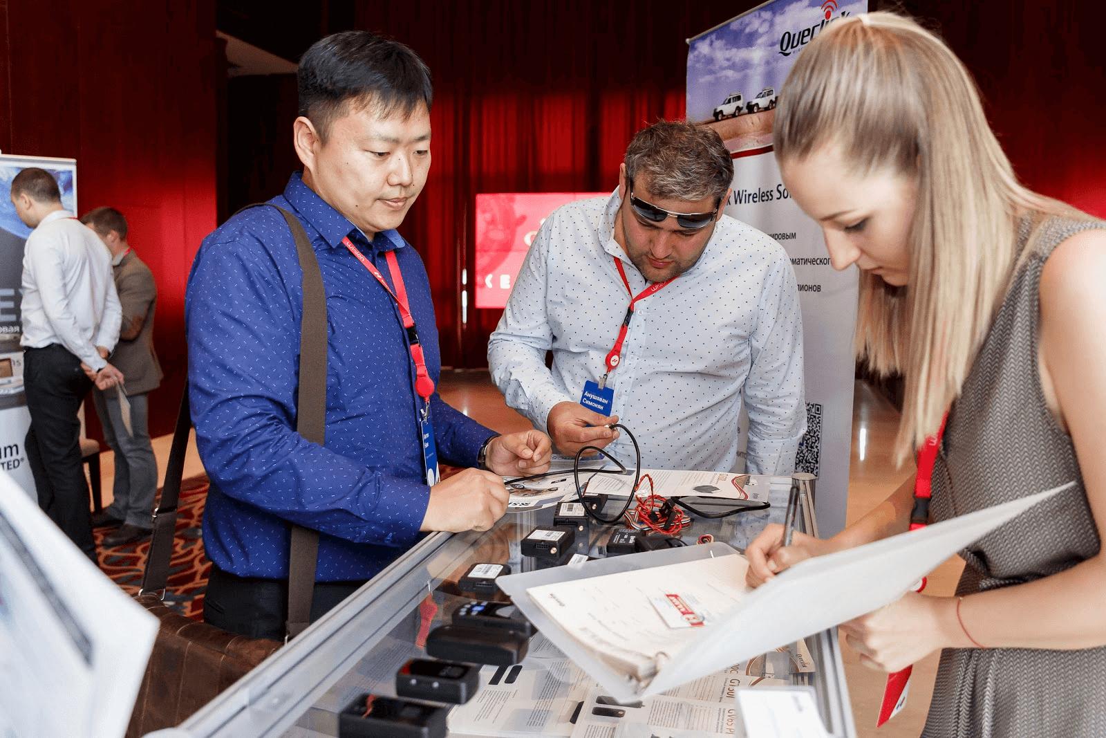 Queclink на выставке производителей оборудования