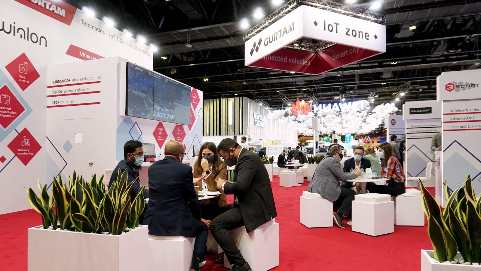 Gurtam IoT-zone at GITEX 2020