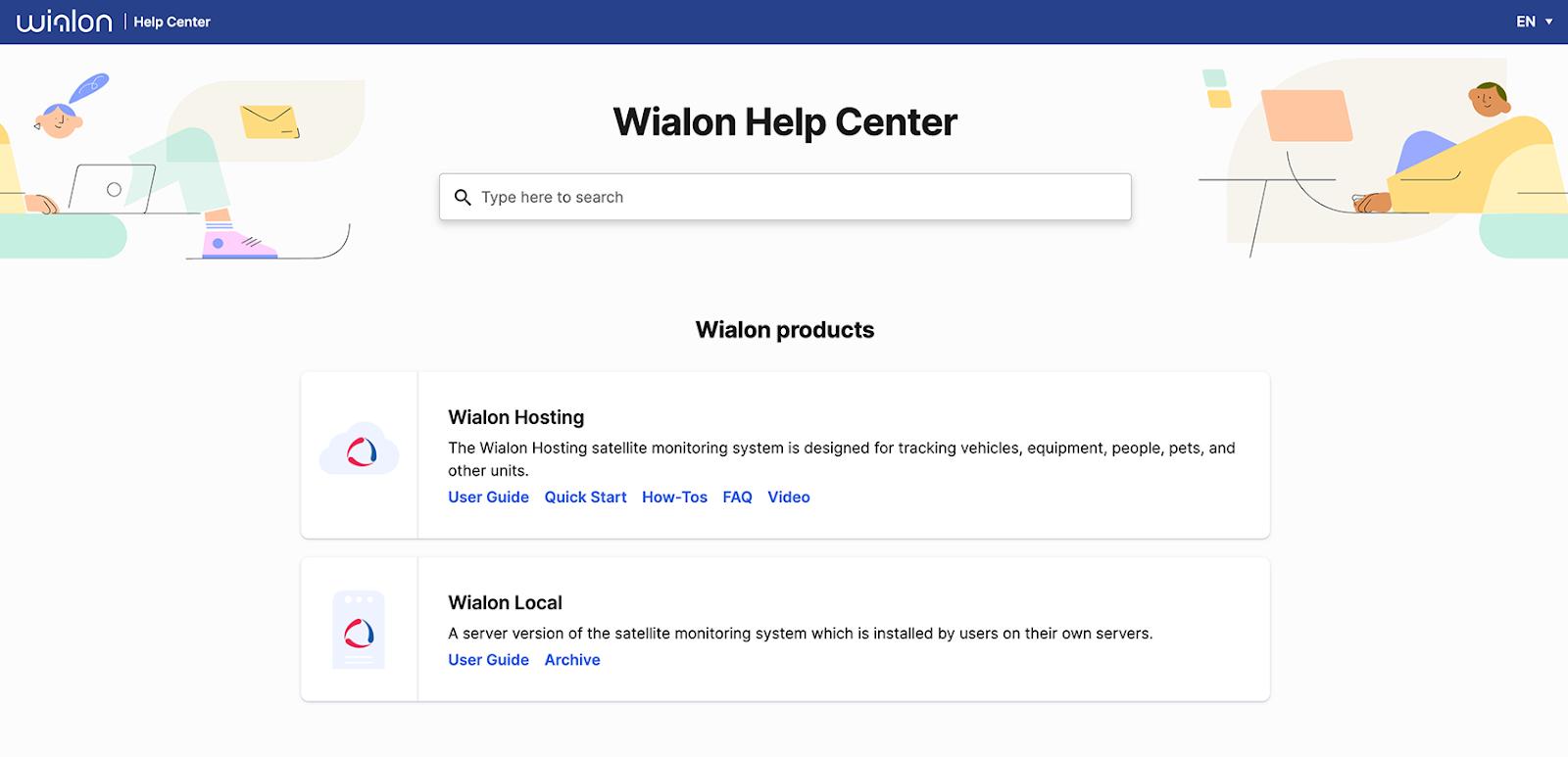 Wialon help center