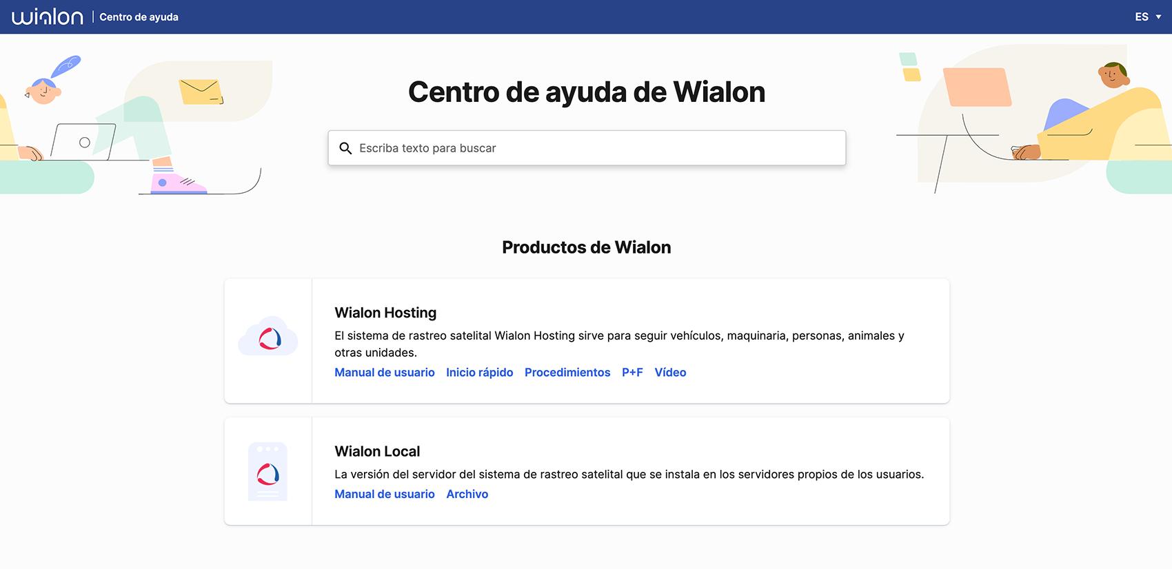 Centro de ayuda de Wialon
