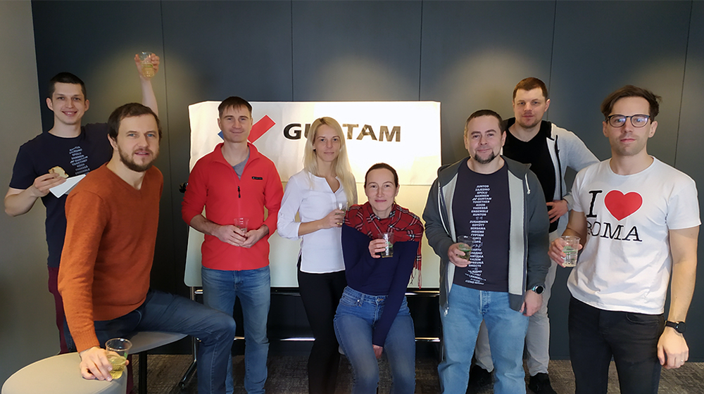 Команда из Вильнюса