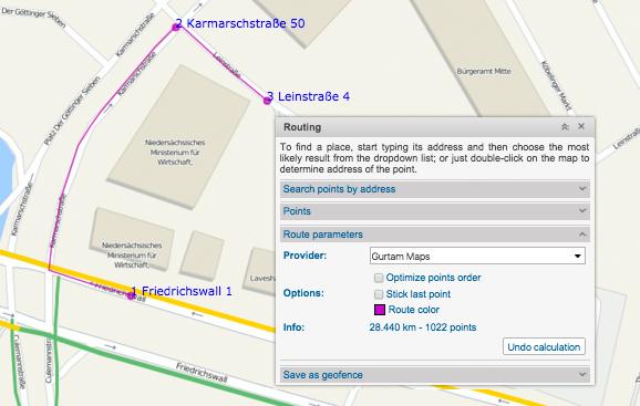 Gurtam Maps — a native Wialon-based GIS